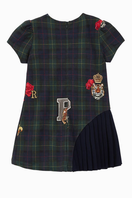 hover state of Tartan Jersey Dress