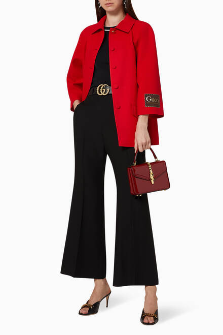 hover state of Gucci Eterotopia Wool Silk Jacket