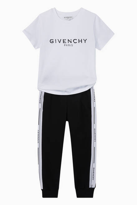 hover state of Jacquard Logo Band Jersey Sweatpants