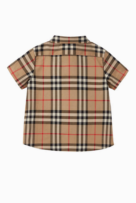 hover state of Vintage Check Cotton Shirt