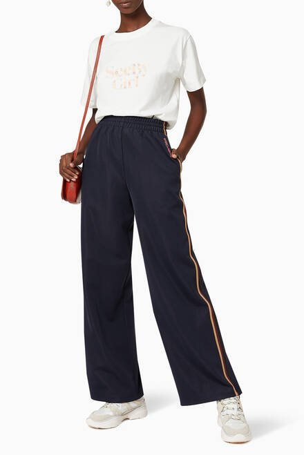 hover state of Striped Jersey Sweatpants