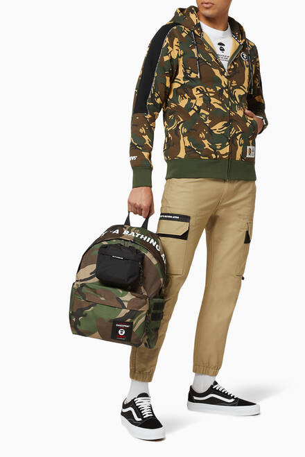 hover state of x Eastpak Camo Backpack in Nylon