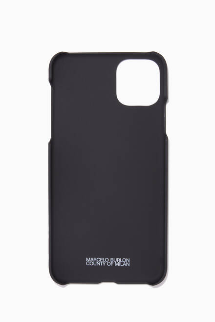 hover state of Cross Logo Wings iPhone 11 Pro Max Case