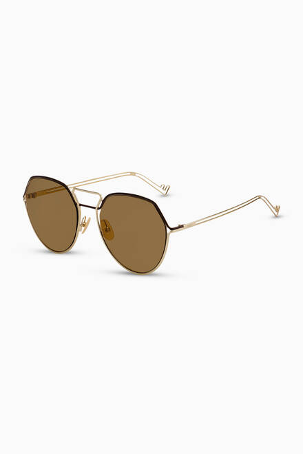 hover state of Pantos Sunglasses in Metal