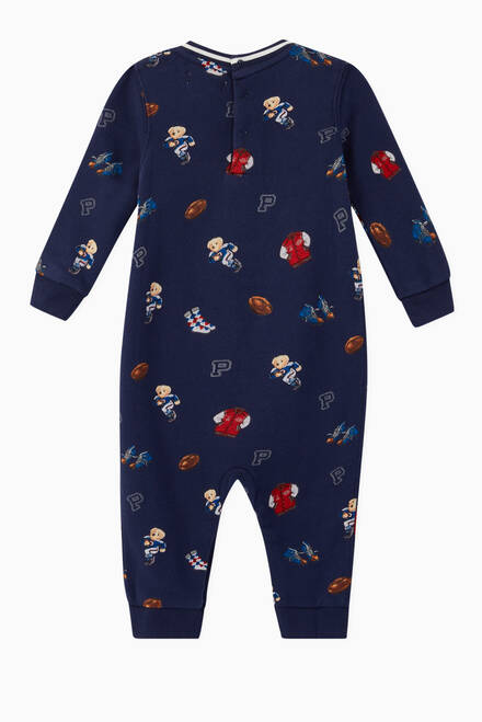 hover state of Polo Bear Terry Coverall