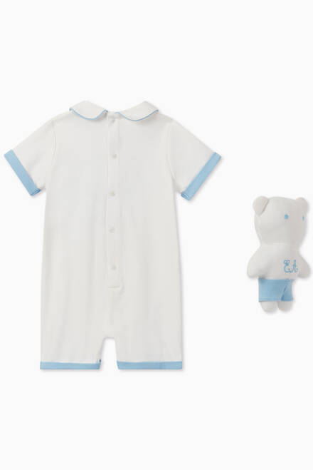 hover state of EA Manga Bear Romper & Toy set