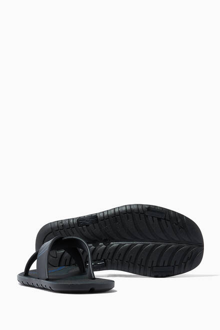 hover state of EA Kriss Kross Camo Slide Sandals
