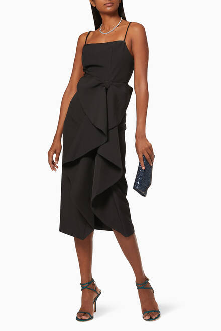 hover state of Cordelia Bow Frill Dress
