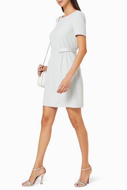 hover state of Cady Techno Crepe Dress