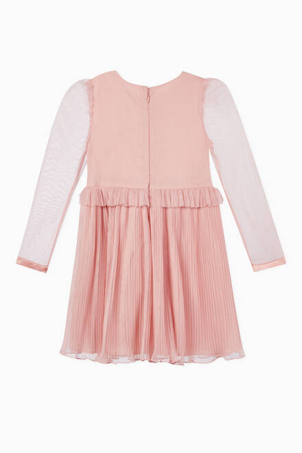 hover state of Luna Pleated Dress