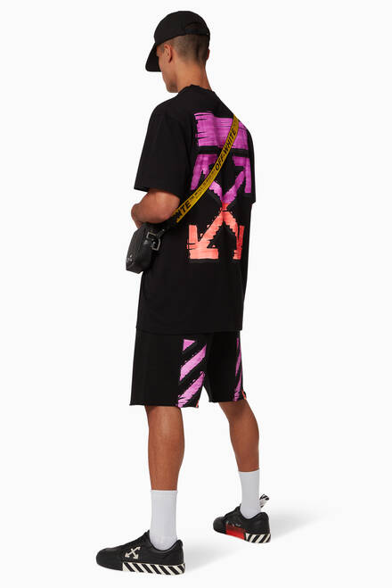 hover state of Marker Arrows Oversized Cotton T-Shirt