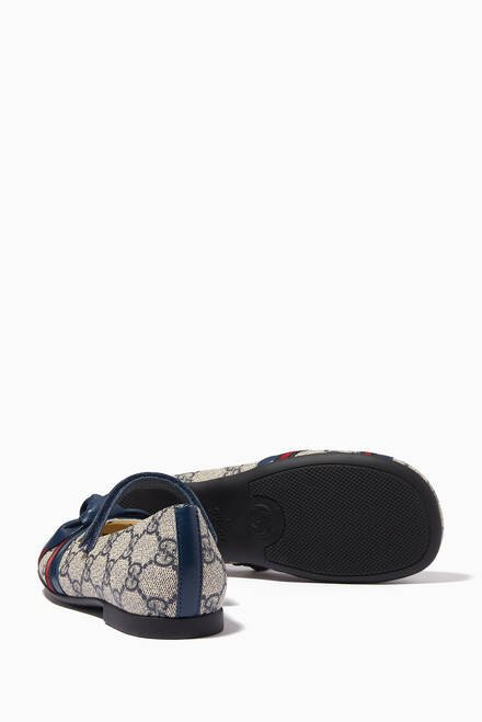 hover state of GG Supreme Ballerinas in Canvas