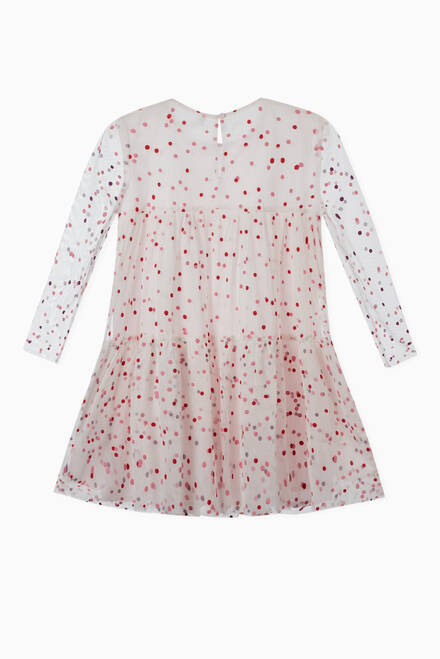 hover state of Dots Tulle Dress