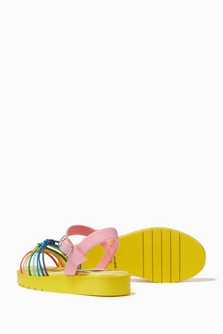hover state of Knotted Sandals in Alter Nappa