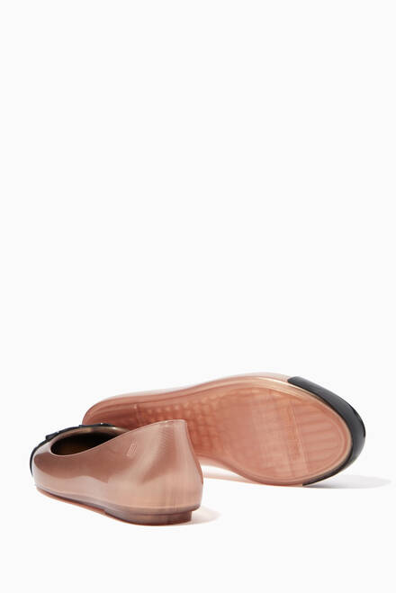 hover state of Sweet Love Cap Toe Ballerinas