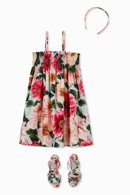hover state of Camellia Cotton Poplin Sundress