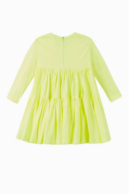 hover state of Bubi Fluo Pleated Dress