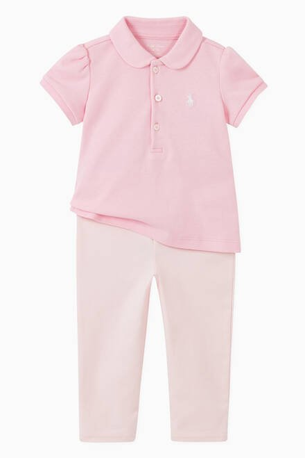 hover state of Pony Stretch Mesh Polo