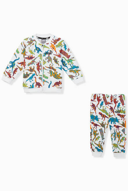 hover state of Minicats Dinosaur Tracksuit, Set of 2
