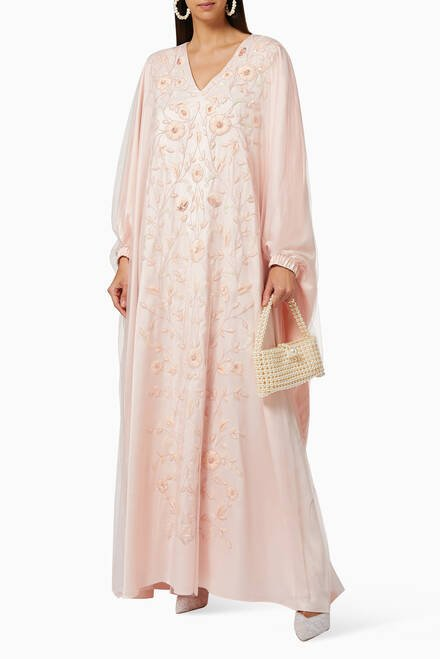 hover state of Ari Embroidered Kaftan