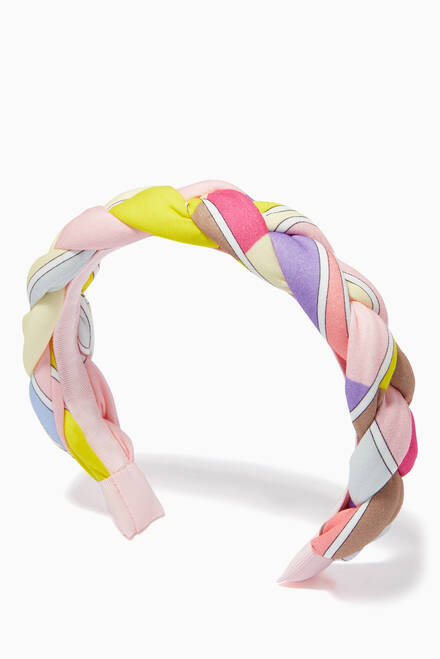 hover state of Geometric Print Hairband