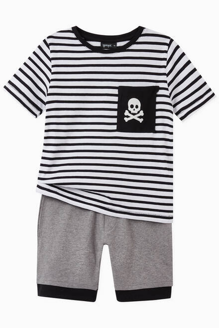 hover state of Pirate Layered Shorts