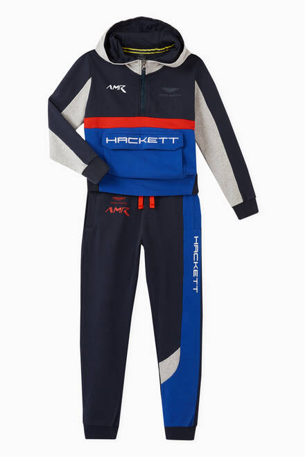 hover state of Aston Martin Racing Sweatpants in Cotton Jersey