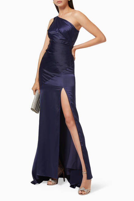hover state of Carol Satin Gown