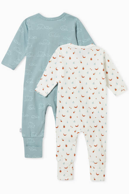 hover state of Idun Cotton Nightsuit, Set of 2