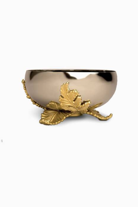 Gold Plated Small Lamina Bowl
