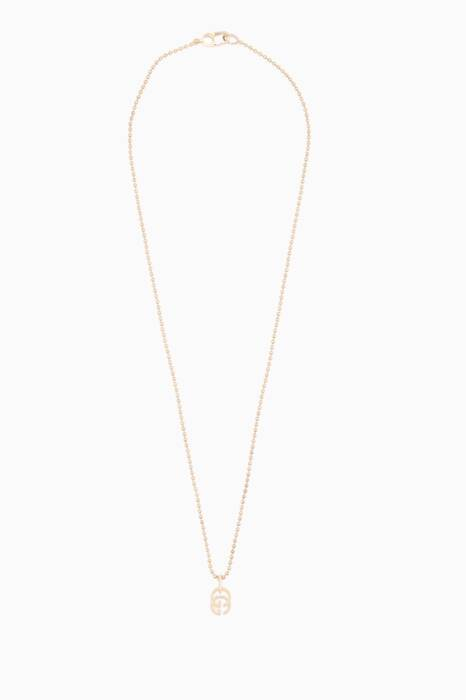 Yellow-Gold Running G Necklace