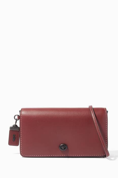 Dark-Red Dinky Cross-Body Bag