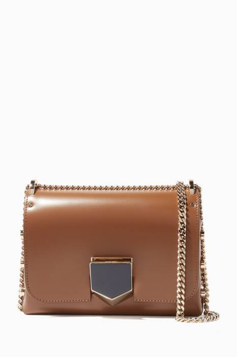 Brown Lockett Petite Shoulder Bag
