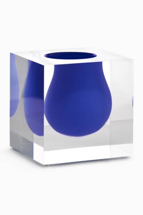 Cobalt Bel Air Mini Scoop Vase