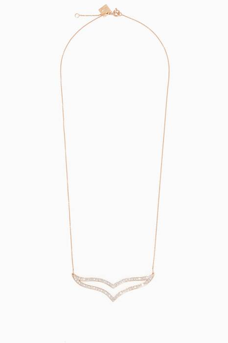 Gold & Diamond Wise Necklace