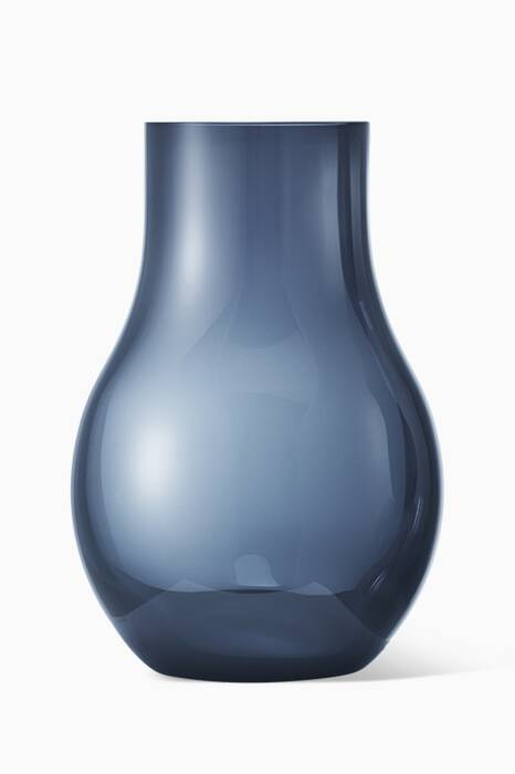 Blue Small Cafu Glass Vase