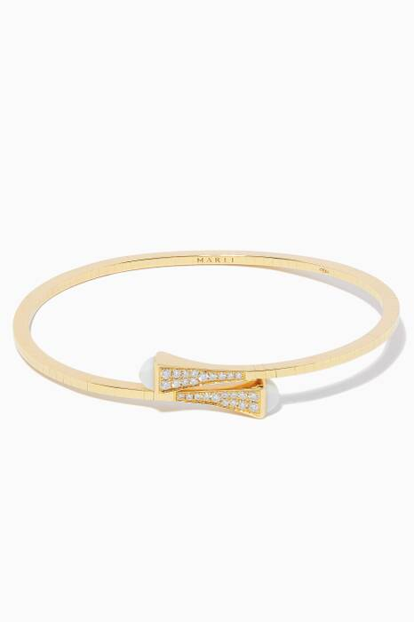 Yellow-Gold Small Cleo Bracelet