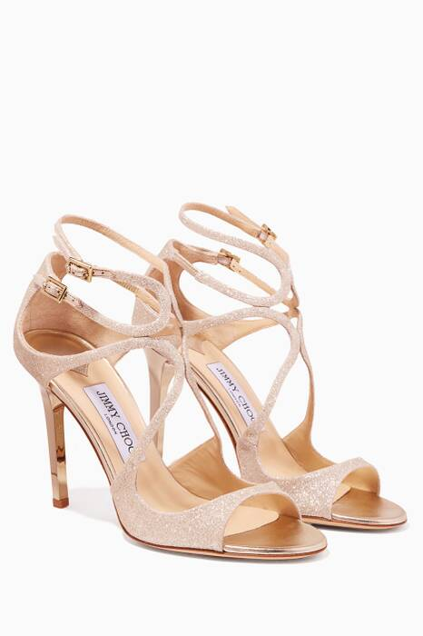 Silver Dusty Bridal Lang Sandals