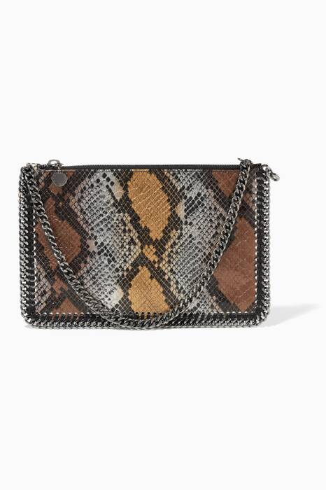 Metallic Zip Purse