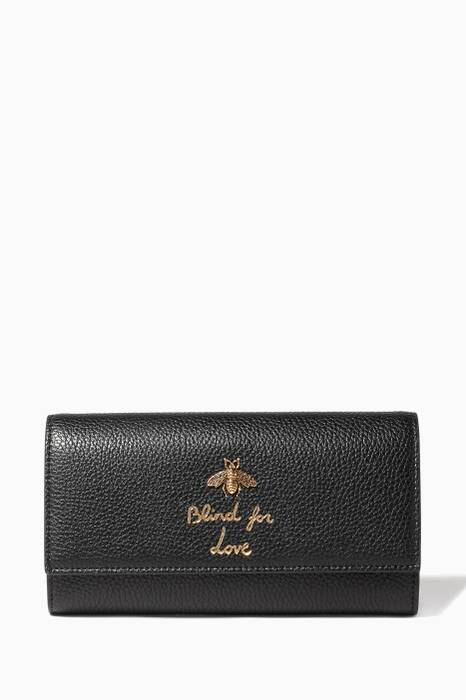 Black Blind for Love Wallet