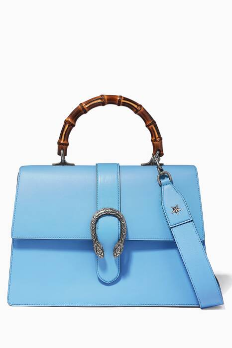 Light-Blue Borsa Dionysus Top Handle Bag