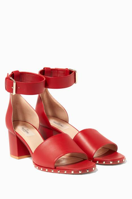 Red Soul Heeled Sandals