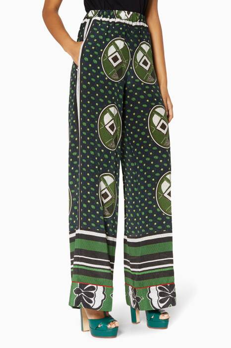 Green Inadeguata Pants