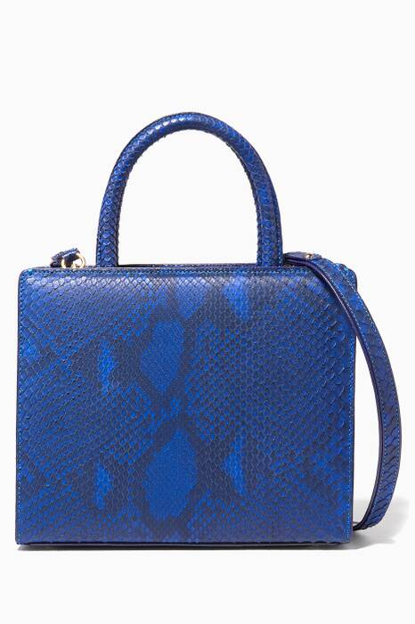 Blue Python My Sweet Box Bag