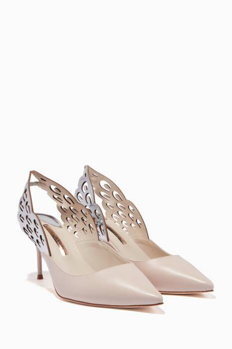 Nude Angelo Slingback Pumps