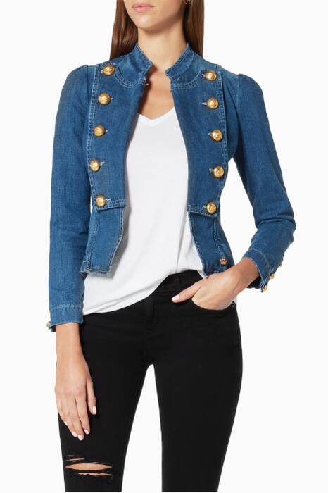 Blue Marquesa Denim Jacket