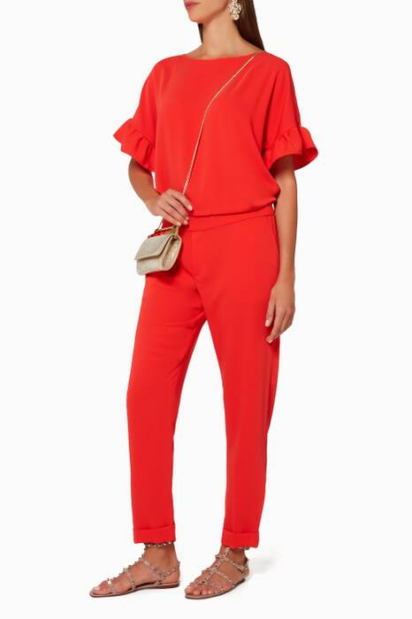 Red Panterax Jumpsuit