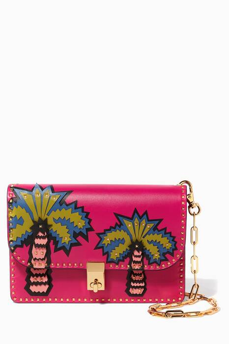 Pink Garden of Delight Shoulder Bag