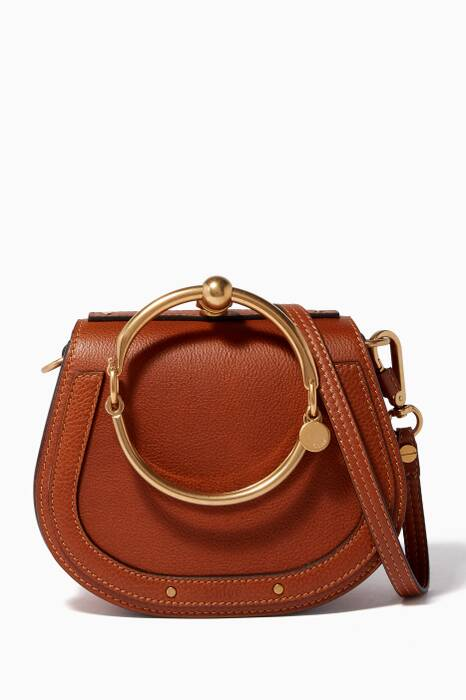 Caramel Small Nile Bracelet Bag