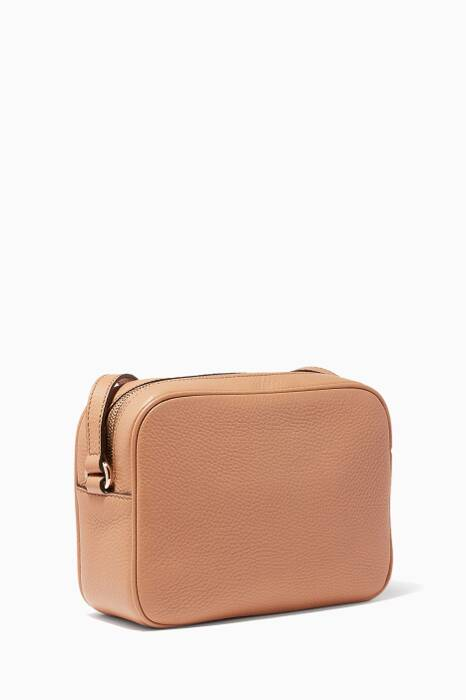 Rose Beige Soho Leather Disco Bag